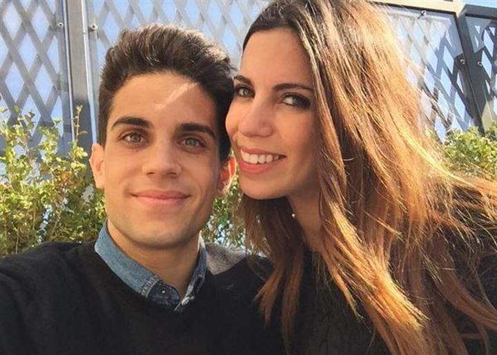 Marc Bartra y Melissa Jiménez muestran su felicidad tras esperar una niña