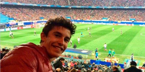 Los famosos 'colchoneros' no se pierden al Atlético de Madrid