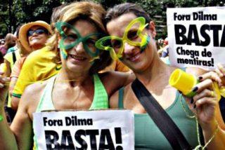 Brasil: Las protestas contra Dilma Rousseff reúnen a cientos de miles de manifestantes