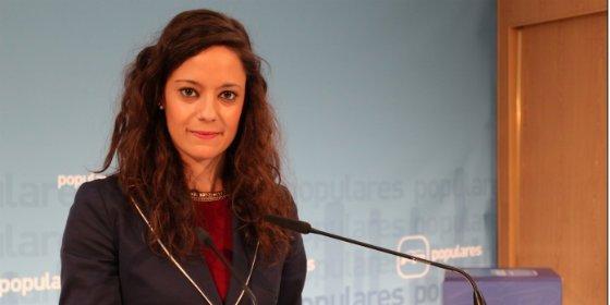 """María Delicado (PP): """"Las dos mejores interanuales de la serie histórica de CLM se han conseguido con Cospedal"""""""