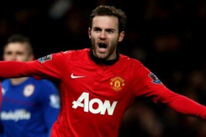 Mata es trending topic con este golazo de tijera al Liverpool