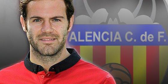 ¡Ofertón del Valencia por Juan Mata!