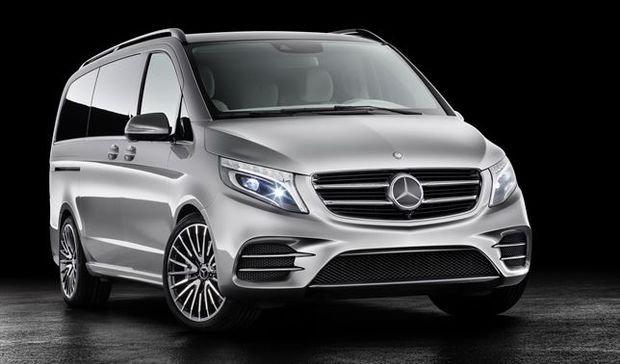 Mercedes Concept V-ision e, la familia más ecológica