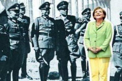 ¿Qué hace una provocativa Merkel en la Acrópolis rodeada de nazis?