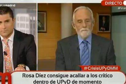 """Alfonso Merlos le pinta la cara a Luis de Velasco: """"¿Está diciendo que UPyD puede usar como felpudos a los periodistas?"""