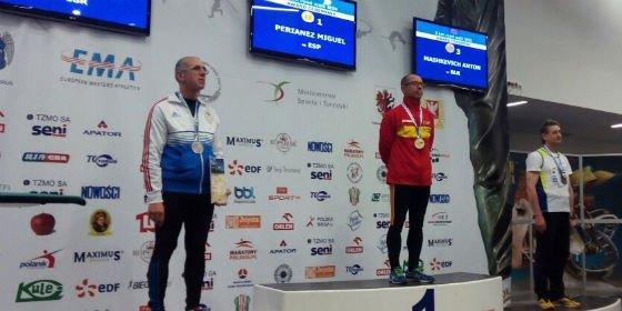 Miguel Periañez, Campeón de Europa de los 5 km marcha