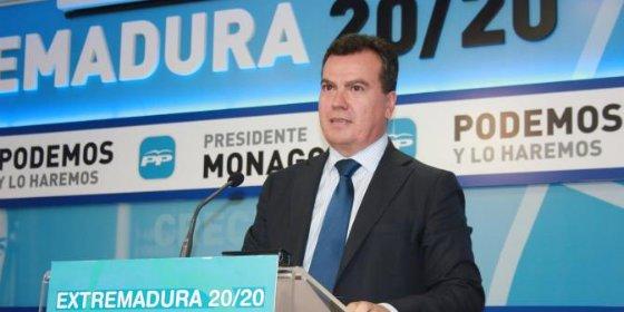El PP extremeño apoya la tercera bajada de impuestos prometida por Monago