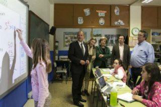 Monago presenta las infraestructuras educativas que se van a realizar en Don Benito