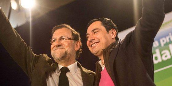 Mariano Rajoy se vuelca en Andalucía para apoyar a Juanma Moreno