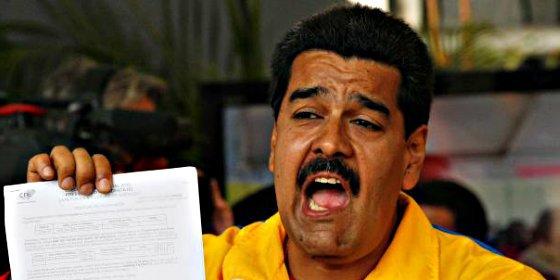 """Nicolás Maduro: """"Creo que si voy a España y me lanzo a la presidencia, gano las elecciones"""""""