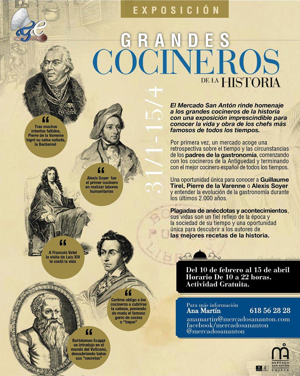 Grandes Cocineros de la Historia