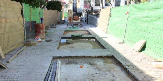 En dos meses acabarán las obras en el centro de la ciudad de Mérida