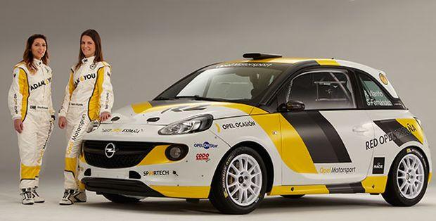 Opel apuesta por la integración femenina en los Rallyes