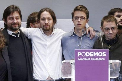 La Razon dice que existe preocupación en Bildu ante el ascenso de Podemos en el País Vasco