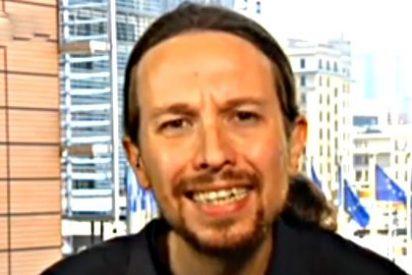 ¿Le falta un tornillo? Pablo Iglesias cabrea a la Eurocámara grabando 'La Tuerka' sin orden ni concierto