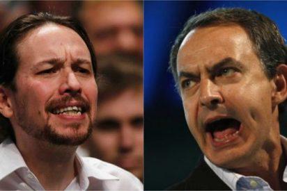 """ABC acusa a Zapatero de meterse en otro charco llamando """"socialdemócrata"""" a Podemos"""