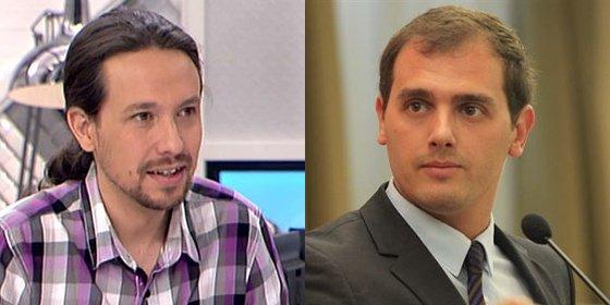 Albert Rivera (C's) se está merendando a Pablo Iglesias en Internet