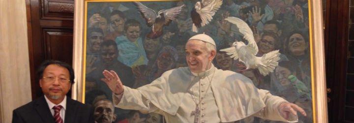 De propagandista de Mao en China a retratista del Papa