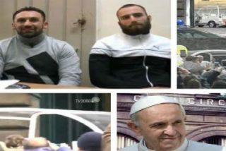 """El Papa a los presos de Nápoles: """"Estando aquí con vosotros descubro a Dios"""""""