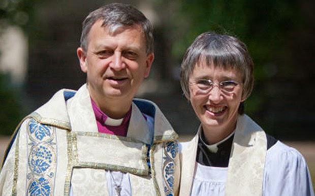 Primer matrimonio de obispos en la Iglesia anglicana