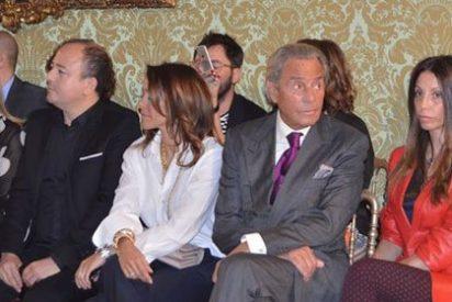Juan Peña, Cecilia Gómez, Arturo Fernández y Carmen Lomana, asisten a la pasarela de moda primavera de 'La Razón'