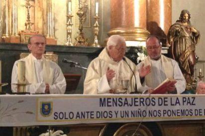 """Padre Ángel: """"Bienvenidos a esta iglesia, las 24 horas. Venid a rezar, a soñar, a pedir y a dar"""""""