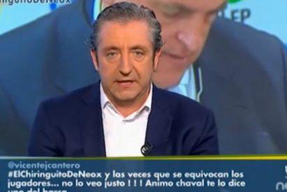 """Pedrerol le da un repaso a Javier Tebas (LFP): """"Sería mejor que trabaje un poco más y hable un poco menos"""""""