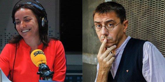 """Pepa Bueno deja al descubierto a Juan Carlos Monedero: """"Negó en directo una información porque no le convenía que se supiera ahora"""""""