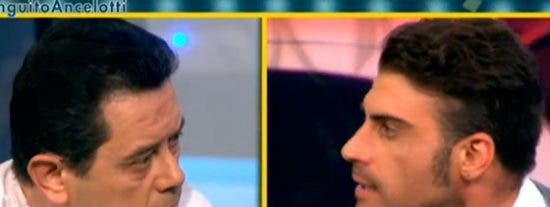 """Pereiro se crece ante Roncero criticando la escasa profesionalidad de muchos futbolistas: """"La diferencia es que tú eres un pelota, y yo no"""""""