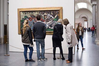 El Prado canoniza a Picasso y el Reina viste de gala