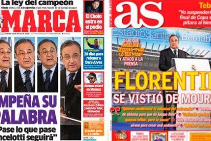 AS y Marca unen fuerzas ante las críticas de Florentino Pérez
