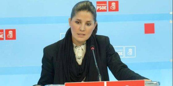 """Isabel Gil Rosiña: """"Ya hemos evaluado la gestión de Monago y ha suspendido"""""""