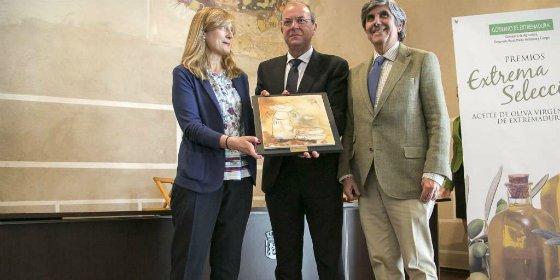 El presidente Monago destaca la calidad del aceite de oliva extremeño