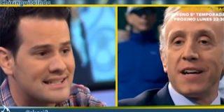 """Eduardo Inda da clases de teoría política a Quim Domènech: """"El nacionalismo español no existe"""""""
