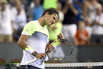 """Rafa Nadal: """"Me moví un poco más rápido que hace un mes"""""""