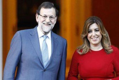 Camacho (ABC) considera que Rajoy lanza un guiño a Susana Díaz para apuntalar el bipartidismo