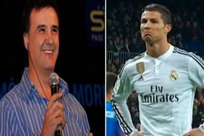 """José Ramón de la Morena, sin pelos en la lengua con Cristiano Ronaldo: """"Cada vez tiene el egoísmo más desarrollado"""""""