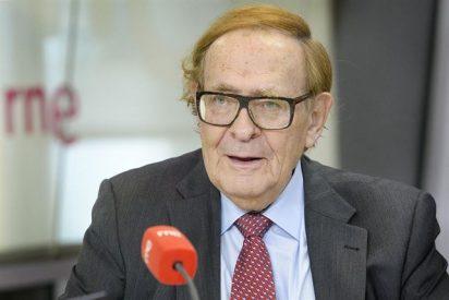 """Ramón Tamames: """"El programa económico de Podemos es una fantasía moruna"""""""