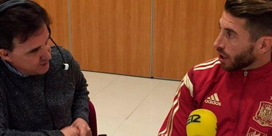 """Sergio Ramos, orgulloso del juego del Madrid: """"Salimos con la cabeza alta, nadie se cagó en el Camp Nou"""""""