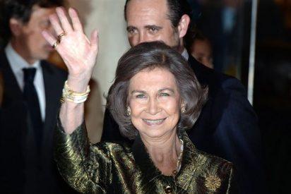 La Reina Sofía recibe en Palma el premio popular de honor de Cope Mallorca