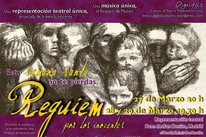 """""""Requiem por los inocentes"""", teatro-performativo esta Semana Santa"""