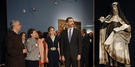 """Los Reyes inauguran la exposición """"Teresa de Jesús: La prueba de mi verdad"""""""