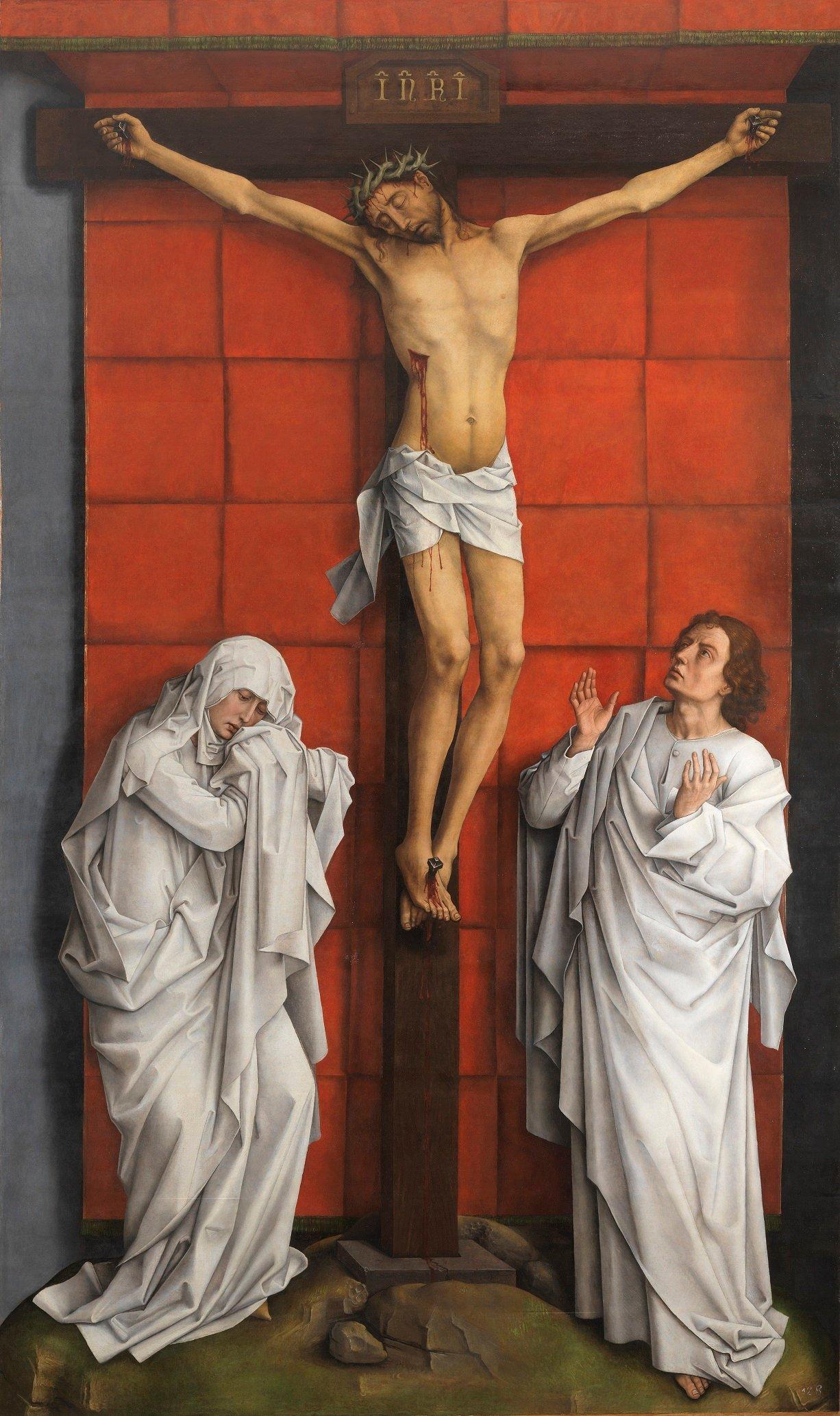 Celebrando a Van der Weyden en torno a su Calvario