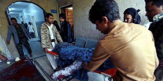 Un doble atentado suicida del EI causa 142 muertos en una mezquita chií en Saná