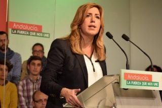 """Susana Díaz: """"Voy a ser la primera mujer que gana las elecciones en Andalucía de manera amplia y clara"""""""