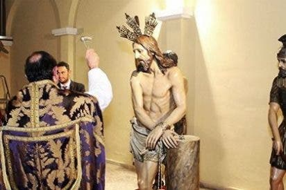 Llegan a Mérida las imágenes de la Hermandad del Calvario recién restauradas en Cáceres