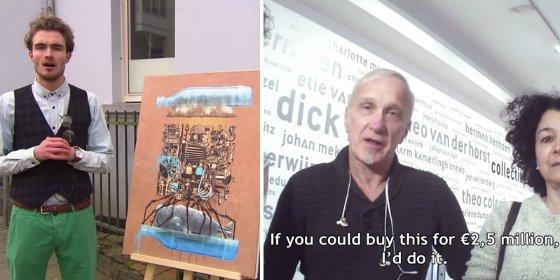 [Vídeo] De esta forma engañan con un cuadro de Ikea a dos expertos en arte algo pardillos