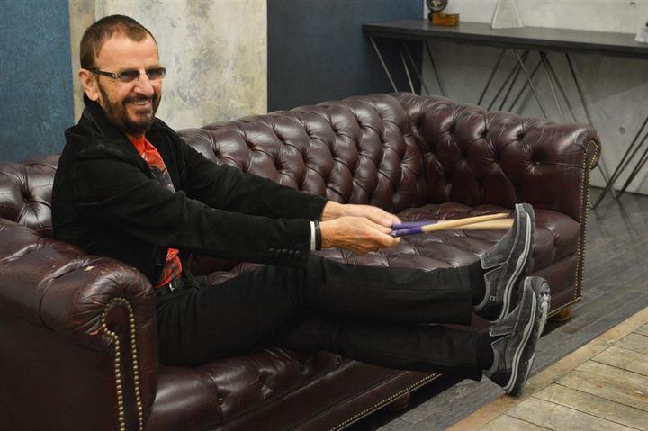 Ringo Starr estrena disco y campaña publicitaria