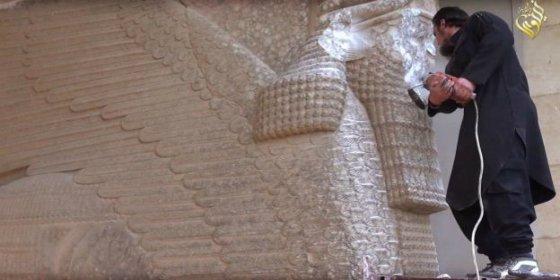 [Vídeo] El salvaje Estado Islámico arrasa Nimrud, la capital del primer imperio mundial