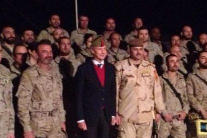 Pedro Morenés visita por sorpresa a los militares españoles en Irak